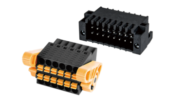 0156 Series PCB Connectors offer rated current of 5A.