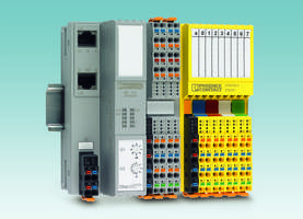 SafetyBridge I/O Modules feature push-in terminals.