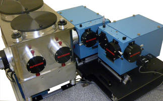 Triple Spectrometer utilizes reflective optics.