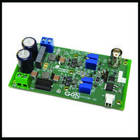 GS61004B-EVBCD Full-Bridge Evaluation Board comes with control pins.