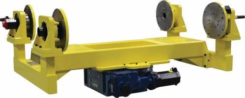Multi-Axis Welding Positioners offer accuracy of 9 arc seconds.