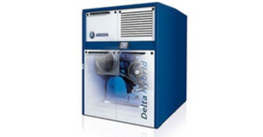 Delta Hybrid Rotary Lobe Compressors feature belt drive.