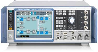 R&S SMW200A Vector Signal Generator comes with optional signal path.