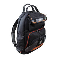 Tradesman Pro™ Tool Gear Backpack is made from 1680d ballistic weave material.