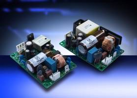 AC-DC Power Supplies feature input to output isolation of 4kVac.