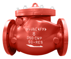 Mueller Swing Check Valves come in ductile iron construction.