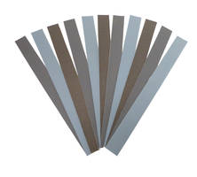 PSA Abrasive Strips are made of wet/dry silicon carbide paper.
