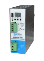 LDD240-WU DIN Rail DC-DC Converter features multiple self-protection mechanisms.