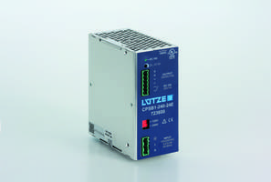 Single Phase 10 Amp Power Supply comes in aluminum housing.