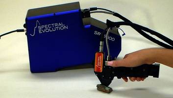 The Spectral Evolution SR-6500 Portable Spectroradiometer Now Has Enhanced Sensitivity in Addition to Ultra-High Resolution