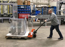 Pallet Jack-Compatible Orbital Wrapper Eases Truck Loading and Unloading