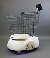 Dash Robotic Shopping Cart features intuitive user interface.