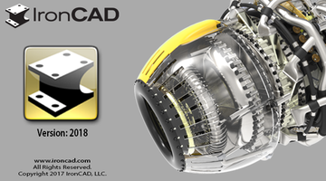 IronCAD 2018 features predefined samples.