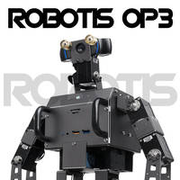 ROBOTIS OP3 Humanoid Robots are ROS-enabled.