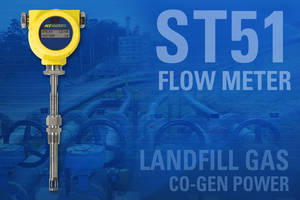 ST51 Landfill Gas Flow Meter comes in IP 67 rated enclosure.