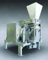 700-TH-50-SS MUNSON® Rotary Batch Mixer is equipped with integral lump breaker.