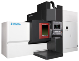 MU-8000V LASER EX CNC Machine offers three dimensional fabrication.