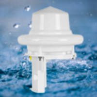 Pulsar 100™ Weather Station senses precipitation type with fast response.