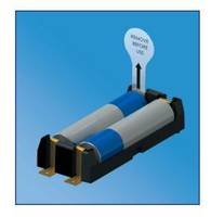 Battery Insulating Pull Tabs are manufactured from flexible polyester.