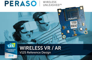 V125 WiGig Reference Design enhances VR user experience.