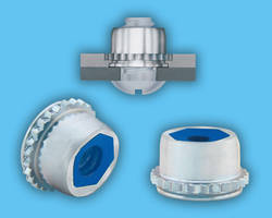 PEMHEX® Self-Clinching Prevailing Torque Locknuts Integrate Nylon Hexagonal Insert to Prevent Mating Screws from Loosening