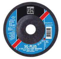SG-PLUS WHISPER Grinding Wheel from PFERD Reduces Vibration and Noise While Increasing Service Life and Stock Removal Rates