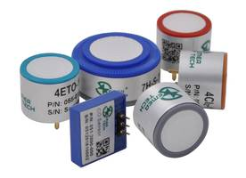 Ammonia (NH3) Electrochemical Sensors offer life up to 50,000 ppm hrs.