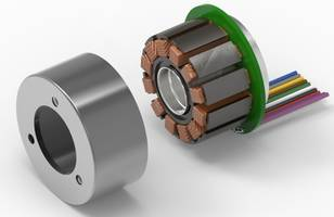 EC 45 Flat Frameless Servo Motor features hollow shaft construction.