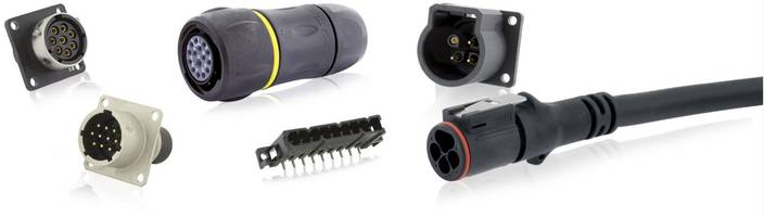 Trim Trio Series Connectors come with 1/3-turn bayonet coupling.