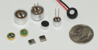 Electret Condenser Microphones feature solderless terminations.