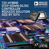 LTC7821 DC/DC Synchronous Controller comes with overcurrent protection.