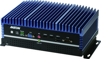 BOXER-6640M Embedded Box PC features eight USB 3.0 ports.