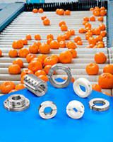 Shaft Collars, Couplings and Flange Mounts are USDA and FDA approved.