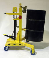 Ergo-Matic® Drum Handlers feature double Parrot-Beak® clamps.