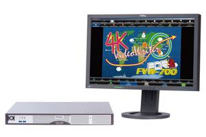 FVW-700 4K/HD Telestrator allows control from multiple users.