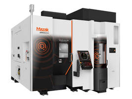 VARIAXIS i-300 Machining Center is equipped with cam-driven tool changer.