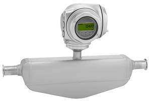 Proline 300 Smart Flowmeters feature 316L stainless-steel housings.