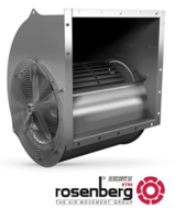 Rosenberg High-Efficiency Radial Fans for 1.5-Ton to 15-Ton Evaporator Applications Now Available for Immediate Shipment from Rosenberg USA, Inc.