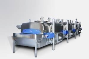 CRYOLINE® CWI CRYOWAVE® Impingement Freezer uses liquid nitrogen.