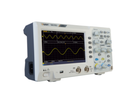 SDS1102 Digital Storage Oscilloscope comes with PC interface.