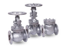 Cast Steel Flanged Gate and Swing Check Valves meet ASTM A216 WCB standards.