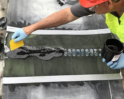 Devcon® R-Flex™ Belt Repair Compound reduces plant downtime.
