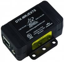 DTK- MRJEXTS Surge Protectors meet IEEE standards 802.3af and 802.3at.