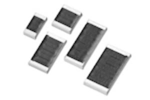 CRMA Series Chip Resistors feature temperature coefficient of ± 100 ppm/°C.