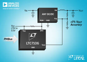LTC7106 Bidirectional Current DAC features internal power-on reset circuitry.