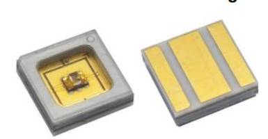 VLMU60CL..-280-125 UVC Emitting Diode provides ± 62.5° emission angle.