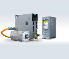 Sinamics S210 Servo Drive System enables easier motion control for machine builders.