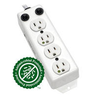 Medical-Grade Power Strips And Surge Protectors receive patented antimicrobial protection coating.