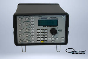 9420 Delay Generator offers a timing delay resolution of 10 ns.