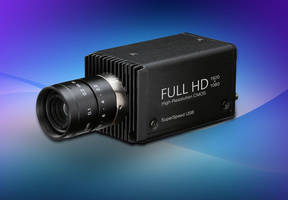 JCS-HR5U CMOS HD Video Camera features 1/2.8 in. color CMOS sensor.